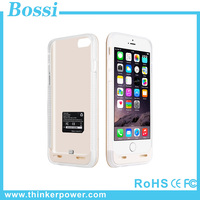 Novelty New style ultra slim 3800mAh External battery case rechargeable power bank charger case plastic case for iphone 6/6S