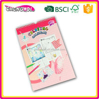 Factory Price A4 spiral binding white board stand desktop calendar