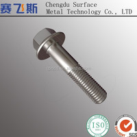 Fasteners stainless bolts with high tension nuts