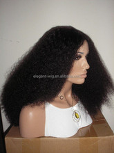 Elegant-wig top quality no tangle no shedding glueless silk top full lace wig