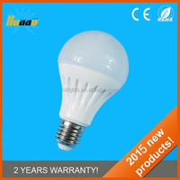 India price wholesale energy saving light a60 dimmable 5w led bulb e27