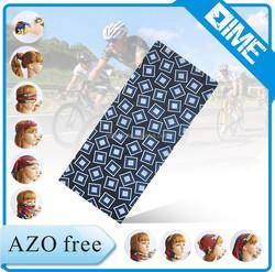 New Aso Oke Polyester Seamless Tube Cycling Cooling Dog Bandana