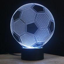 NL14 wholesale arcylic 3d led night light with custom style