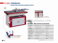 Small manual edging banding machines