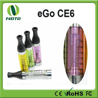 Factory price the newest colorful e6 electronic cigarette