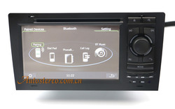 7 inch Car Stereo DVD Player Satnav for Audi-A8 S8 GPS Navigation System mp3 player multimedia