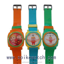 New products hot sales on USA market cute pig dial kids cartoon gift watch