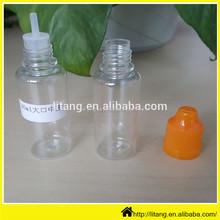 e cigarette Liquid bottles PET plastic bottle cap pet bottle scrap in bale
