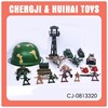 20pcs plastic military set army soldier toy set
