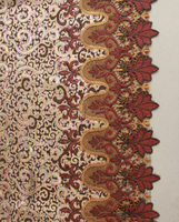 factory price embossed suede fabric fashion embroidery curtain fabric