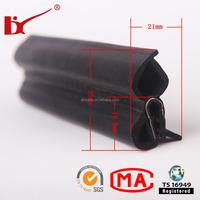 High tehnique auto roof insert steel belt rubber seal