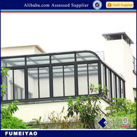 Aluminum frame Sunroom with Various Style Suitable for Your Option