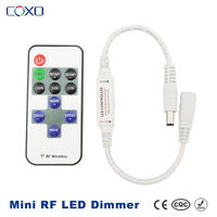 RF Remote led strip touch dimmer , mini led strip touch controller