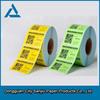 wholesale custom self adhesive label paper