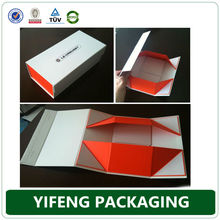 unique printed custom gift boxes wholesale,book shaped decorative small magnetic flat cardboard packaging gift paper folding box