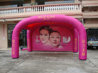 Customized Inflatable Medical Tents, Inflatable fair Tents for event and exhibition