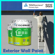 China chemicals products water based exterior house colors