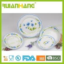 20pcs porcelain dinner set with coupe shape dinner plate, antique porcelain dinner set