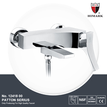 Western contemporary single handle bath & shower mixer faucet