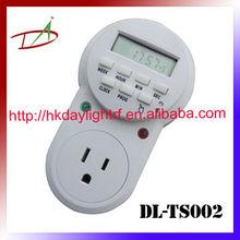 110V digital programable semanal temporizador