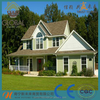 Excellent strength pvc roof shingle/roofing shingle price/plastic roof shingle