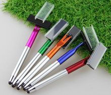 2015 China novelty 360 screen cleaner pens with shaver shape