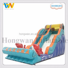 product cheap outdoor amusement park wonderful inflatable playground water slide with EN14960