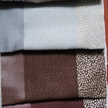 Good price woven jacquard window curtain fabric for curtains with attached valance
