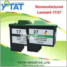 YOTAT remanufactured 10N0217 for Lexmark 17 27 ink cartridge