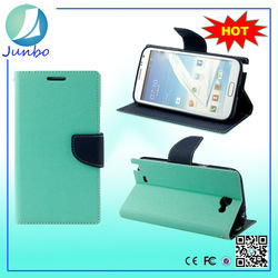 Big promotion flip cover phone case with wallet for samsung galaxy note 2