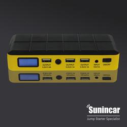 Sunincar JP06 2014 newly private model 14000mAh car jump starter 19v emergency roadside survival kit&portable power bank