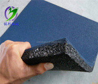 Outdoor rubber tiles Safety Playground Rubber Tile