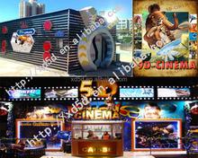 Amusement Theme Park Hottest Cinema 7D Simulator Game Machine