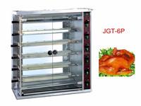 New Design 6 Pins Gas Chicken Rotisserie Oven For Sale