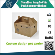 Contact us for real factory price of custom airplane disposable cardboard pet carrier