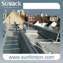 No welding roof mounting, solar panel frame
