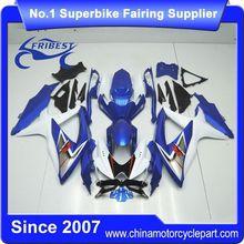 FFKSU005 Motorcycle Fairing Kit For GSXR750 GSXR600 2008 2009 2010 Original Light Blue