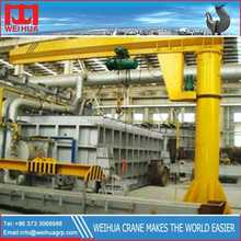 Weihua 360 Degree Rotating Floor Mounted Slewing Small Jib Crane with ISO CE certificates