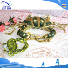 SGS, CE, EN71, ISO9001 child 100% pp stuffing simulation dolls crab stuffed animal stuffed toys for babies