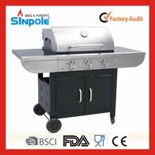 nuovo brevetto 2015 sinpole outdoor di alta qualità barbecue con forno