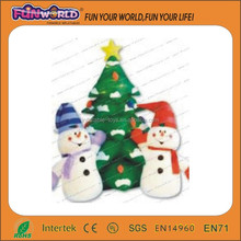 high quality best selling discount inflatable artificial christmas tree
