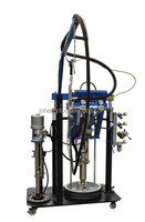 Graco Pump Two Component Sealant Extruder machine, two component sealant extruder machine