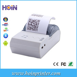 1D 2D Mobile POS Thermal Receipt Printer 58mm with USB,Bluetooth