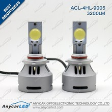 High power 32w 9005 /HB3 3200lumen led headlight with CE Rosh certification solving flicker by decoder