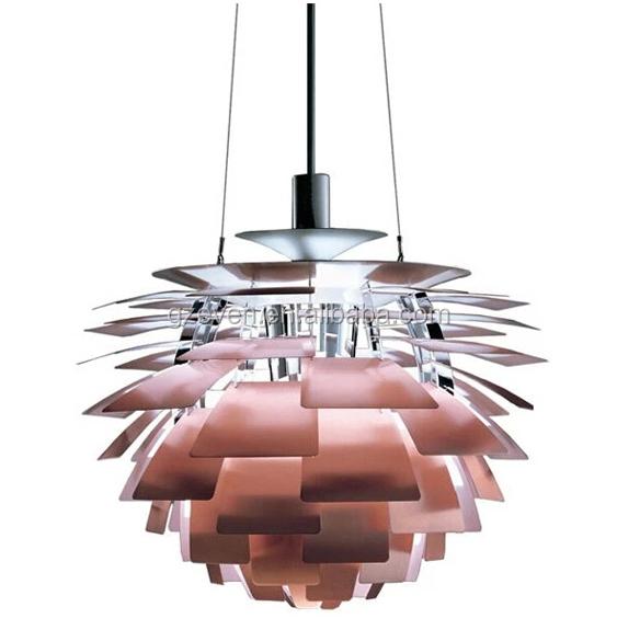 Denmark Famous Designer Design Aluminium Artichoke Pendant