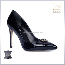 Genuine leather women high heel shoes, 35-41SIZE, shoe manufacturer price, top quality