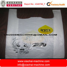 Automatic high speed plastic bag making machine