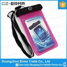 High Quality IPX8 PVC Touch Screen Waterproof Case for lg g2