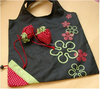 Newest top sell rose folding shopping bag