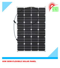 22% high efficiency sunpower marine flexible solar panel 80W